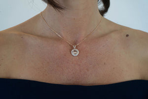 18ct Rose Gold Morganite & Diamond 'Harper' Pendant and chain - Gemma Stone  ABN:51 621 127 866