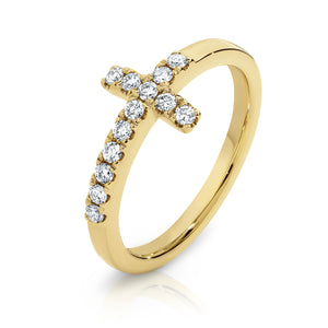 18ct Diamond 'Hope' Ring - Gemma Stone Jewellery