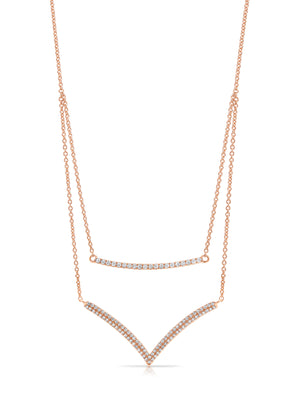 "18ct Gold and Diamond ""Havana"" Necklace - Gemma Stone  ABN:51 621 127 866"