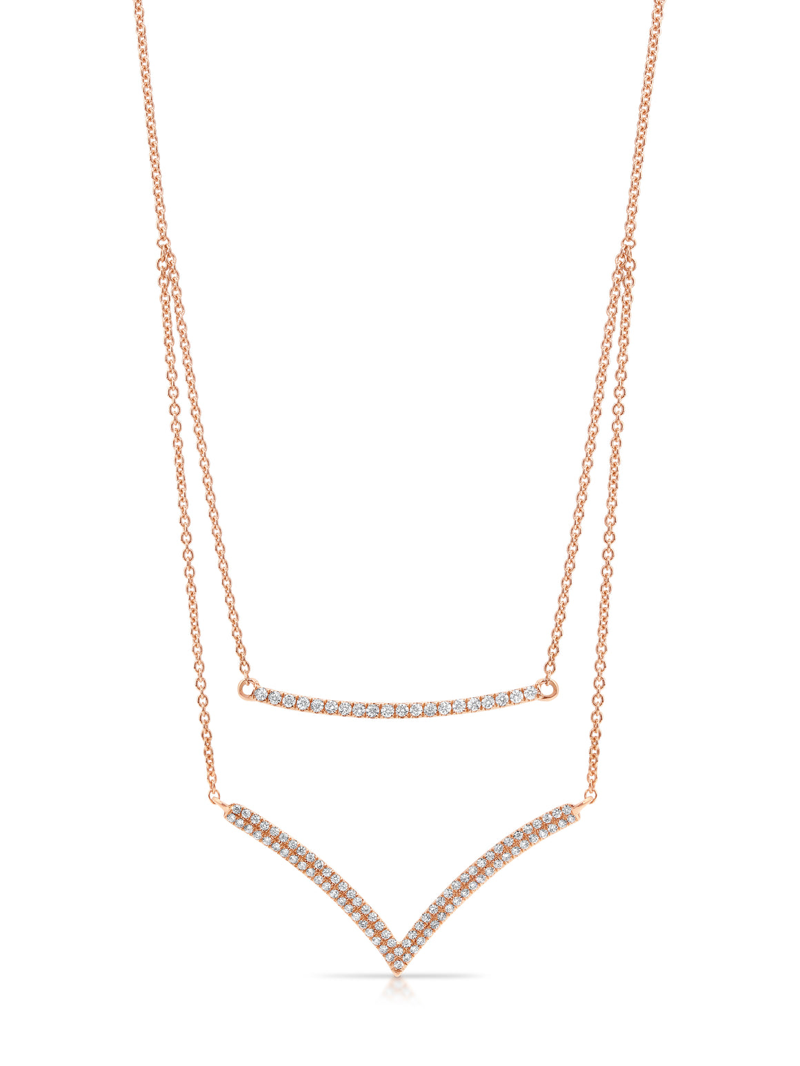 "18ct Gold and Diamond ""Havana"" Necklace - Gemma Stone Jewellery"