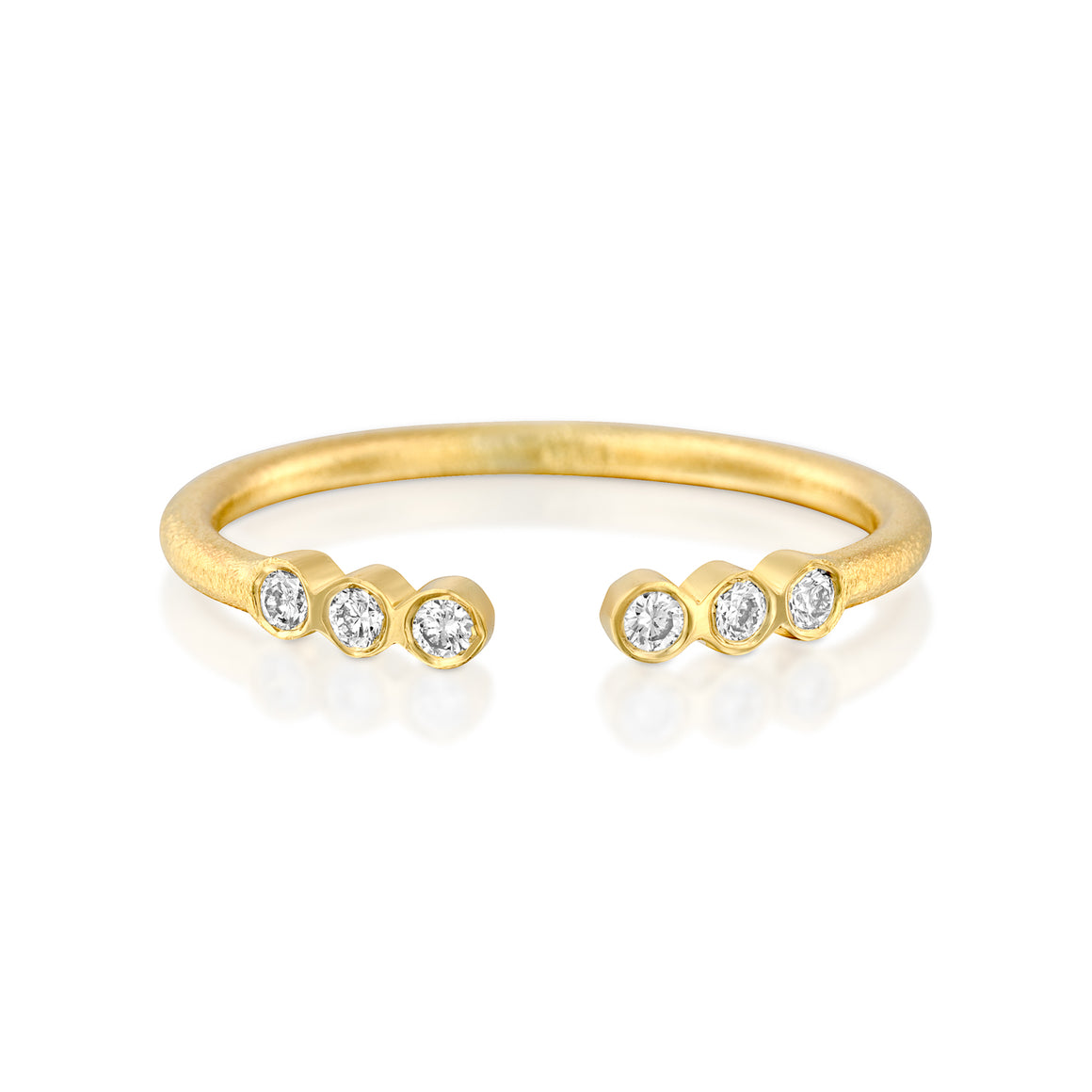 14ct Gold and Diamond Marika Ring. - Gemma Stone Jewellery