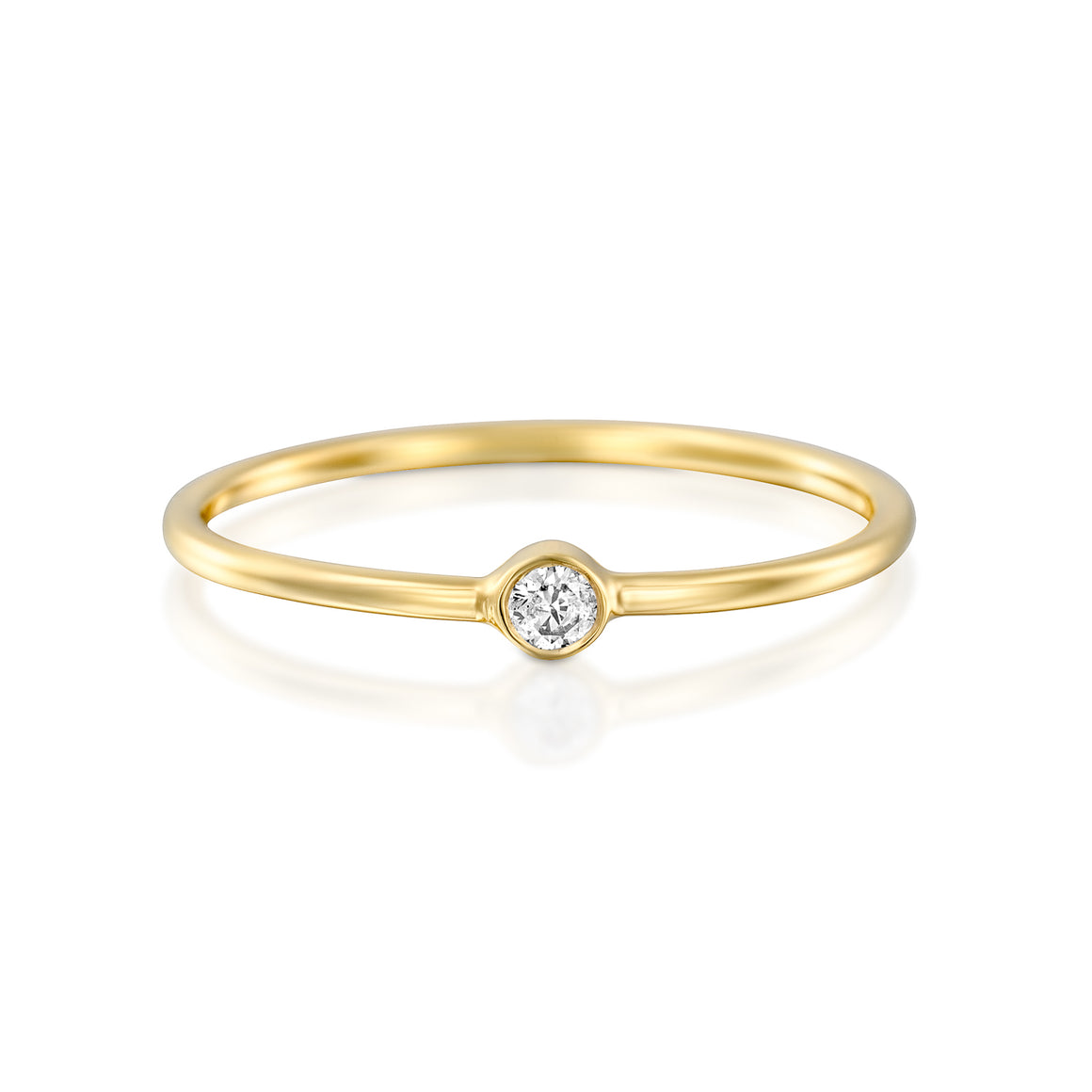 14ct Gold and Diamond Lisette Ring. - Gemma Stone Jewellery