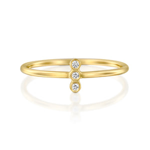 14ct Gold and Diamond Athena Ring. - Gemma Stone  ABN:51 621 127 866