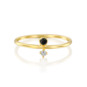 14ct Gold and Diamond Agola Ring. - Gemma Stone  ABN:51 621 127 866