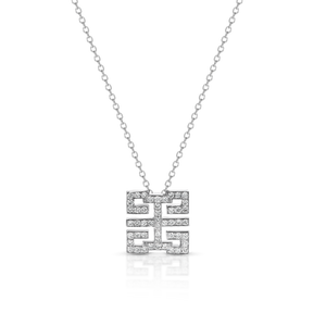 Diamond 'Double Happiness' Necklace - Gemma Stone Jewellery