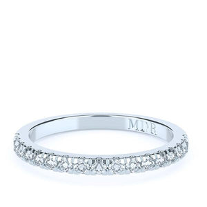 The 'Sierra' Diamond Fitted Wedding Ring - Gemma Stone  ABN:51 621 127 866
