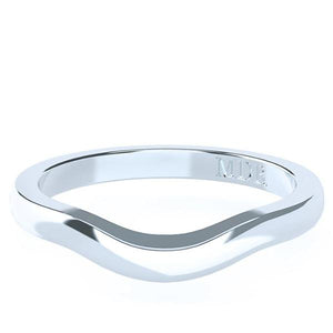 The 'Chania' Fitted Wedding Ring - Gemma Stone  ABN:51 621 127 866