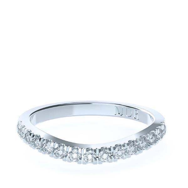 The 'Palazzo' Diamond Fitted Wedding Ring - Gemma Stone  ABN:51 621 127 866