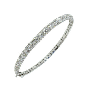 Pavé Diamond 'Brooklyn'  Bangle - Gemma Stone  ABN:51 621 127 866
