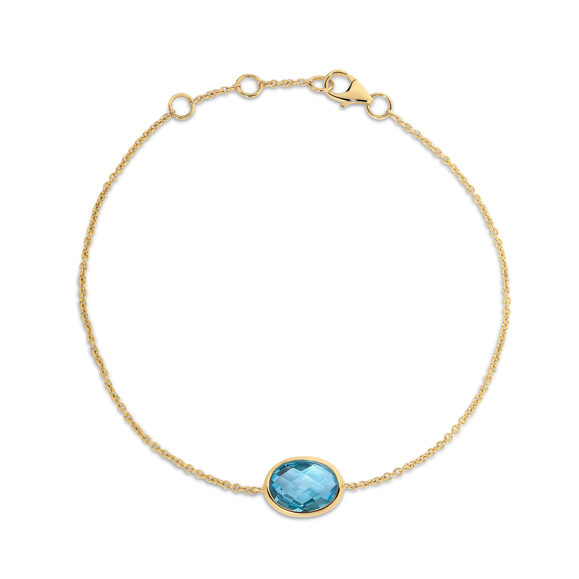 18ct Gold and Topaz Bracelet - Gemma Stone  ABN:51 621 127 866