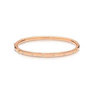 Gold Plated Diamond 'Maxine' Bangle - Gemma Stone  ABN:51 621 127 866
