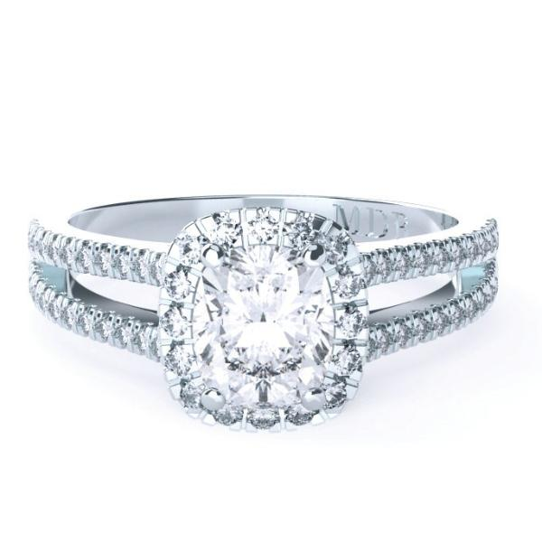 Cushion Cut Diamond 'Dawson' Ring - Gemma Stone  ABN:51 621 127 866