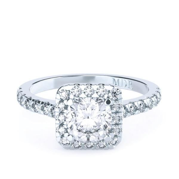 Cushion Cut Diamond 'Giselle' Ring - Gemma Stone  ABN:51 621 127 866