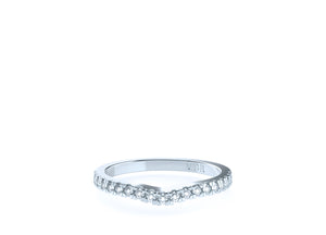 The 'Cara' Diamond Fitted Wedding Ring - Gemma Stone Jewellery