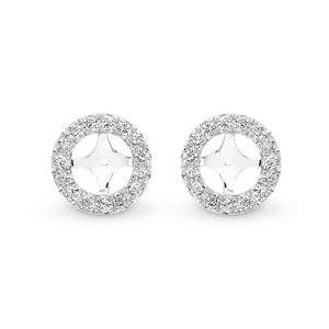 Diamond Earring Jackets (1ct) - Gemma Stone Jewellery