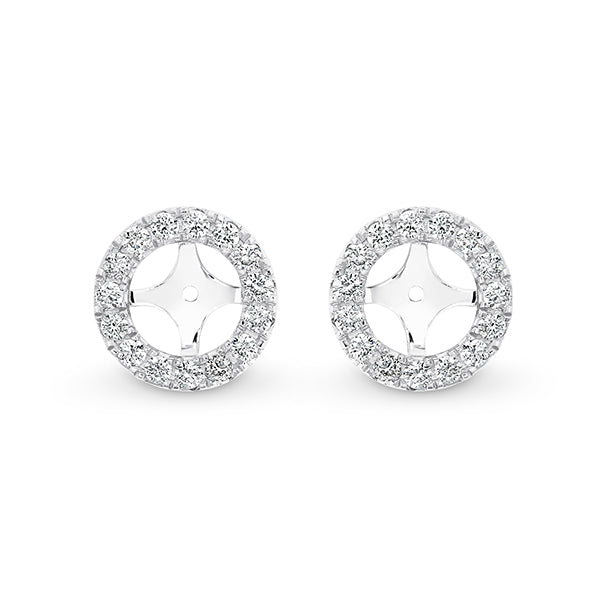 Diamond Earring Jackets (0.20ct) - Gemma Stone Jewellery