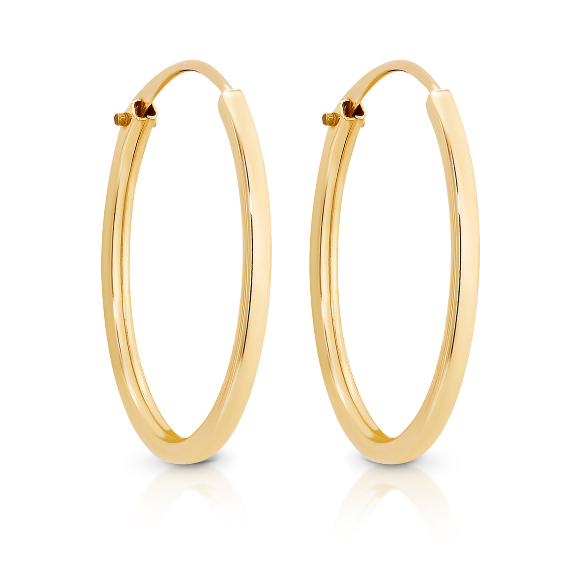 9ct Gold 'Camden' hoop earrings - Gemma Stone  ABN:51 621 127 866