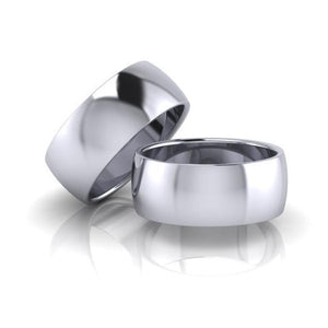 The 'Emerson' Unisex Wedding/Engagement Rings - Gemma Stone Jewellery