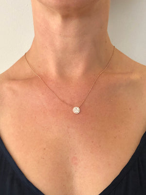 Rose Gold & Diamond 'Barbados' Necklace - Gemma Stone Jewellery