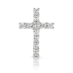Diamond Mini 'Dia' Cross Pendant - Gemma Stone Jewellery
