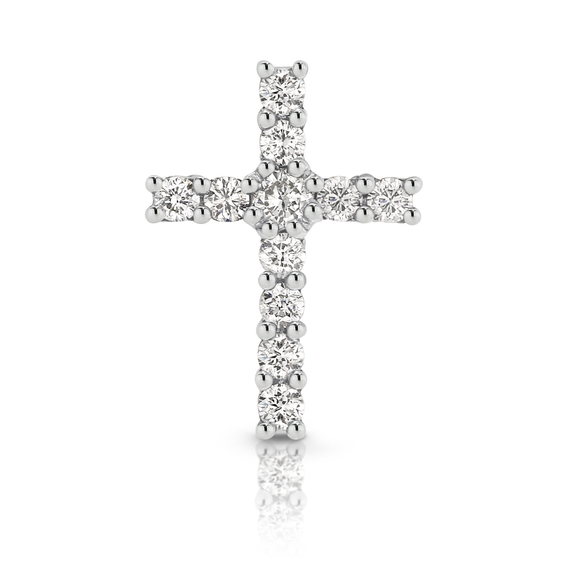 Diamond Mini 'Dia' Cross Pendant - Gemma Stone  ABN:51 621 127 866