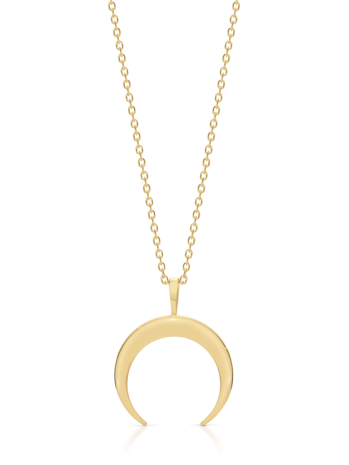 9ct Gold 'Eclipse' necklace - Gemma Stone  ABN:51 621 127 866