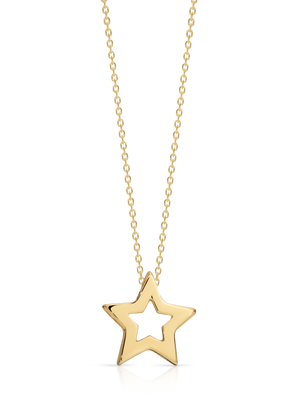 9ct Gold 'Mila' pendant and chain - Gemma Stone  ABN:51 621 127 866
