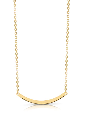 9ct Gold 'Isla' Necklace - Gemma Stone  ABN:51 621 127 866