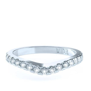 The 'Middleton' Diamond Fitted Wedding Ring - Gemma Stone  ABN:51 621 127 866