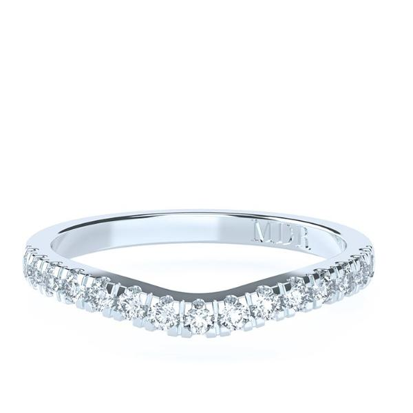 The 'Verona' Diamond Fitted Wedding Ring - Gemma Stone Jewellery