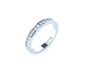 The 'Lucca' Diamond Wedding Ring - Gemma Stone  ABN:51 621 127 866