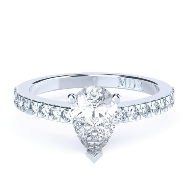 Pear Shaped Diamond 'Edina' Ring - Gemma Stone  ABN:51 621 127 866