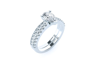 The 'Edina' Diamond Wedding Ring - Gemma Stone  ABN:51 621 127 866