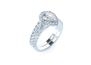 The 'Jordan' Diamond Fitted Wedding Ring - Gemma Stone  ABN:51 621 127 866