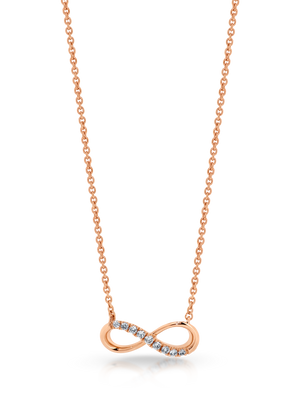 Diamond 'Infinity' Necklace - Gemma Stone Jewellery