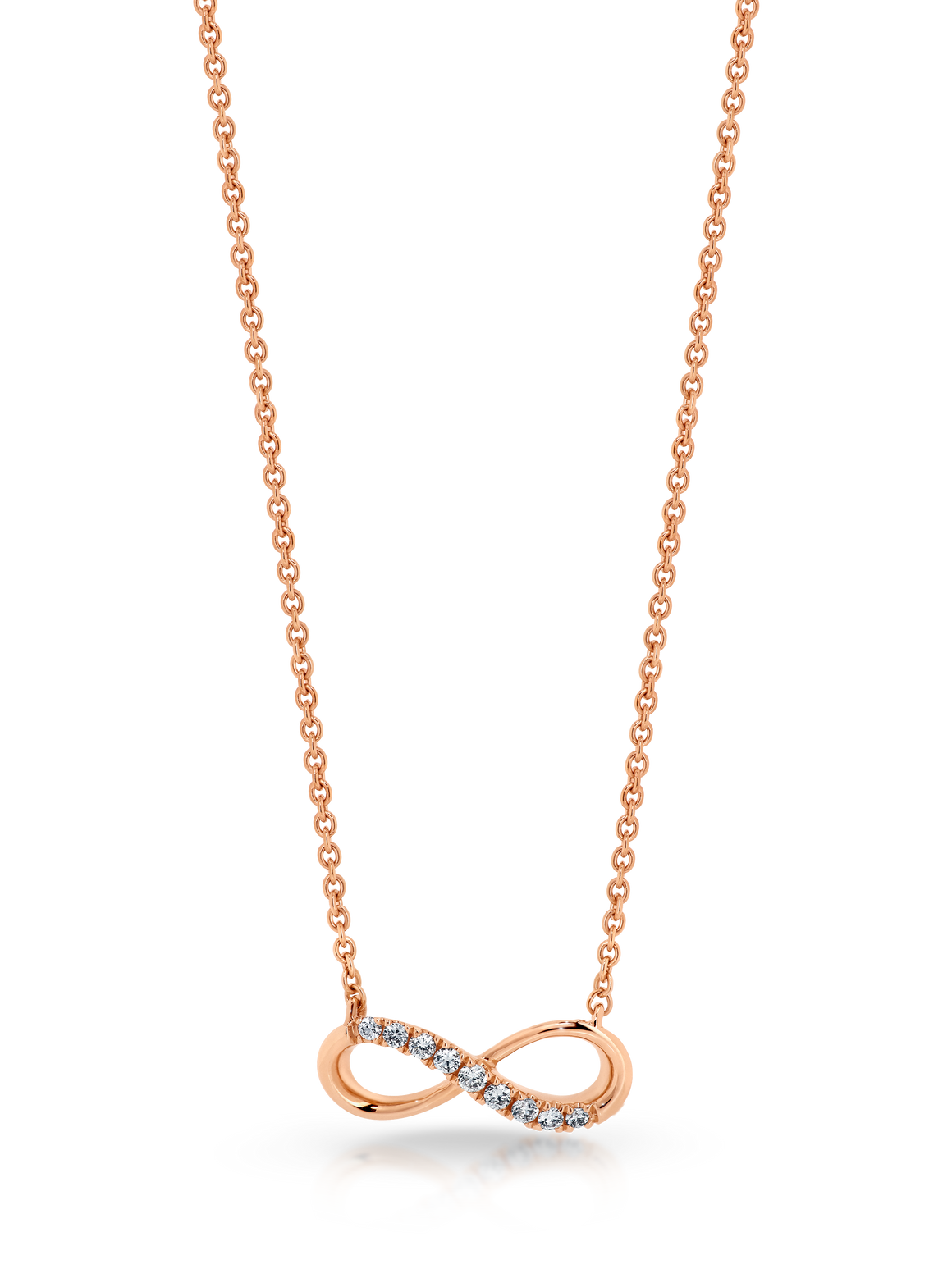 Diamond 'Infinity' Necklace - Gemma Stone  ABN:51 621 127 866