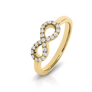 Diamond 'Infinity' Ring - Gemma Stone  ABN:51 621 127 866