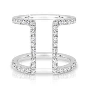 White Gold & Diamond 'Fairfax' Ring - Gemma Stone  ABN:51 621 127 866