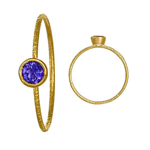 9ct Gold and Coloured Stone Pinky Rings. - Gemma Stone  ABN:51 621 127 866