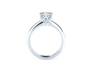 Brilliant Cut Diamond Solitaire 'Bailey' Ring - Gemma Stone  ABN:51 621 127 866