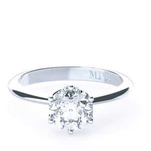 Brilliant Cut Solitaire Diamond 'Alissa' Ring - Gemma Stone  ABN:51 621 127 866