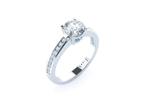 Brilliant Cut Diamond 'Helena' Ring - Gemma Stone  ABN:51 621 127 866