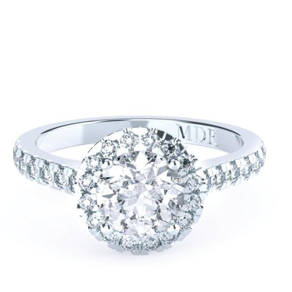 Brilliant Cut Diamond 'Catalina' Ring - Gemma Stone  ABN:51 621 127 866