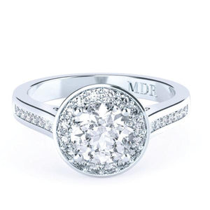 Brilliant Cut Diamond 'Valencia' Ring - Gemma Stone  ABN:51 621 127 866