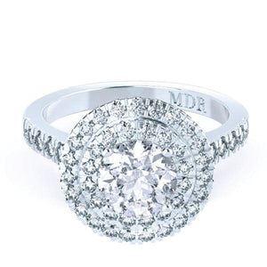 Brilliant Cut Diamond 'Penelope' Ring - Gemma Stone  ABN:51 621 127 866