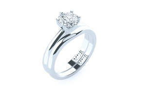 The 'Alissa' Fitted Wedding Ring - Gemma Stone  ABN:51 621 127 866
