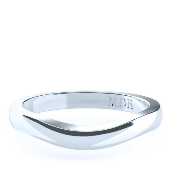 The 'Melania' Fitted Wedding Ring - Gemma Stone  ABN:51 621 127 866