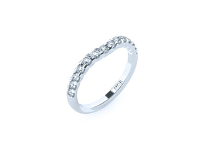 The 'Austin' Diamond Fitted Wedding Ring - Gemma Stone  ABN:51 621 127 866