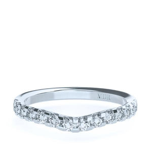 The 'Austin' Diamond Fitted Wedding Ring - Gemma Stone Jewellery