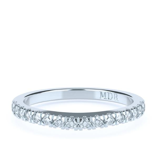 The 'Brooklyn' Diamond Fitted Wedding Ring - Gemma Stone  ABN:51 621 127 866